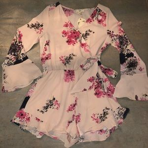 Other - Boutique Rose Romper